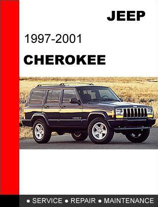 Jeep Cherokee 1997 Factory Workshop Repair Service Manual