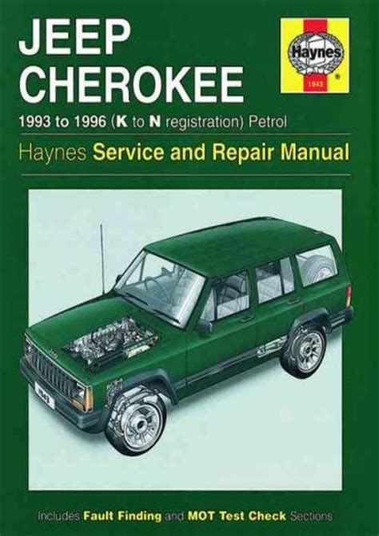 Jeep Cherokee Uk Service Manual