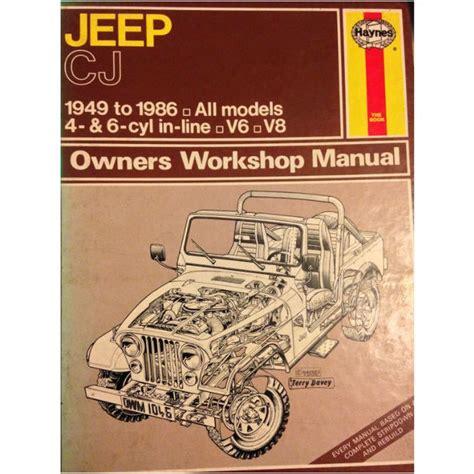 Jeep Cj 3a 1949 1953 Workshop Service Repair Manual