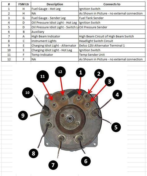 Jeep Cj5 Instrument Wiring Schematic