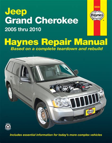 Jeep Grand Cherokee 2005 2010 Workshop Service Repair Manual