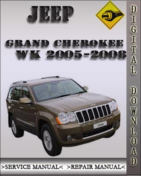 Jeep Grand Cherokee Wk 2007 Owners Manual