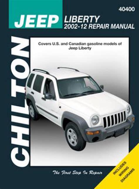 Jeep Liberty Chilton Manual