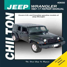 Jeep Wrangler Service Manual 2017