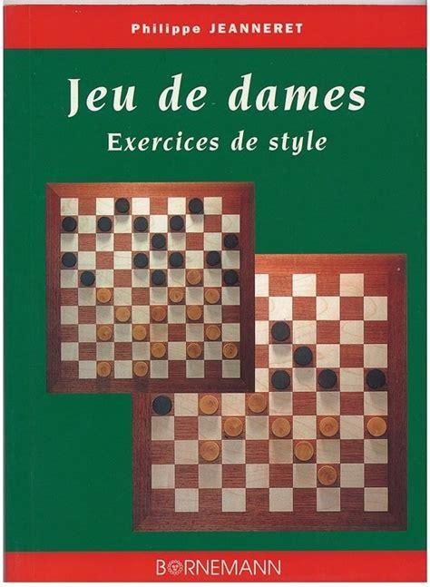 Jeu De Dames Exercices De Style