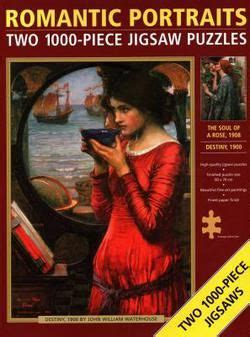 Jigsaw Romantic Portraits Double Two 1000 Piece Jigsaw Puzzles The Soul Of A Rose And Destiny By John William Waterhouse