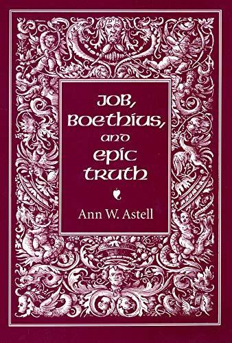 Job Boethius And Epic Truth English Edition