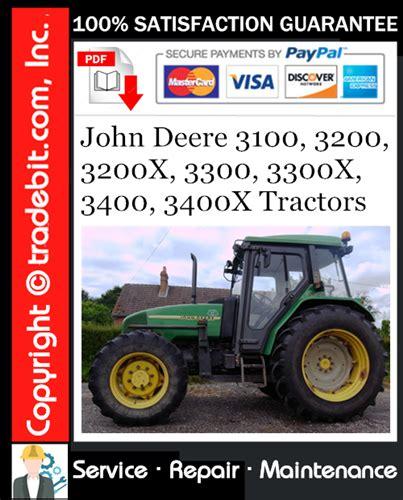 John Deere 3100 Tractor Service Manual