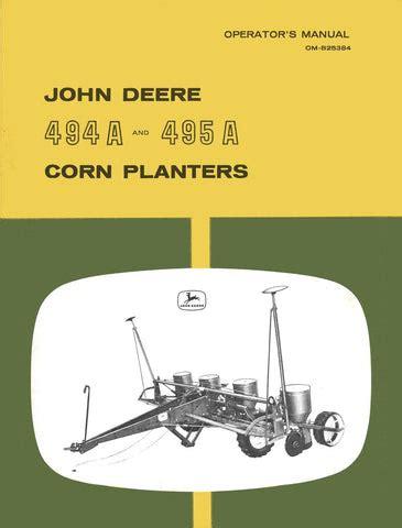 John Deere 7000 Corn Planter Service Manual