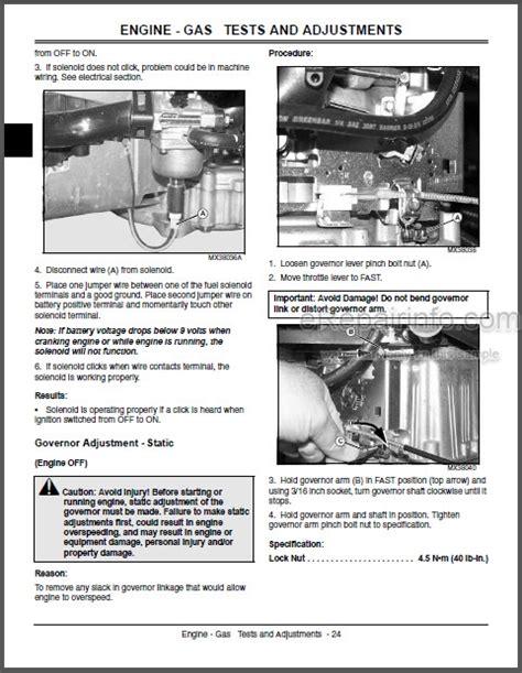 John Deere La100 Series Repair Manual