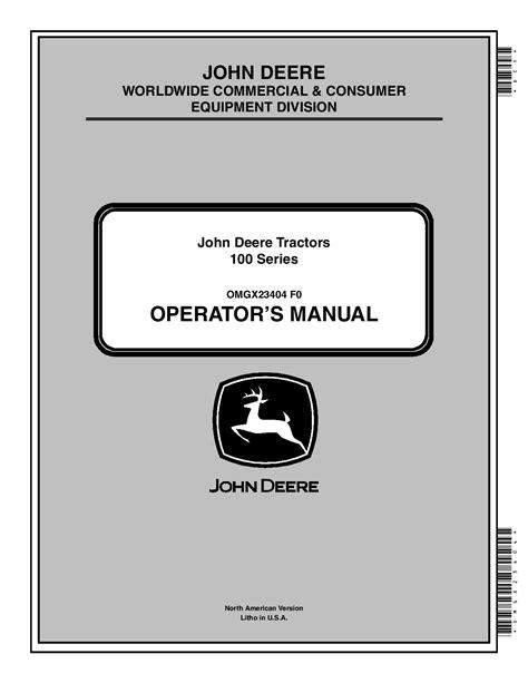John Deere La165 Repair Manual