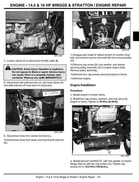 John Deere Sabre Manual