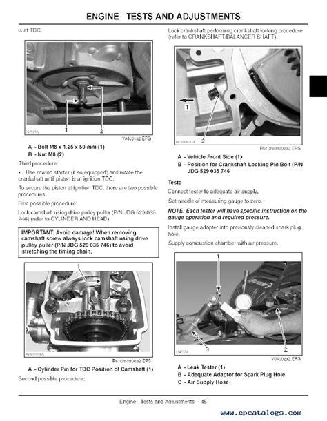 John Deere Trail Buck 500 Service Manual