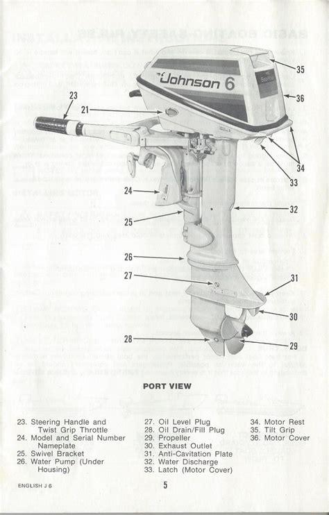 Johnson Outboard Motors Owner Manual