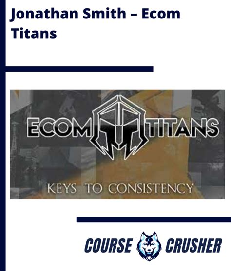 Jonathan Smith - Ecom Titans