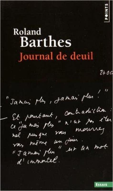 Journal De Deuil 26 Octobre 1977 15 Septembre 1979