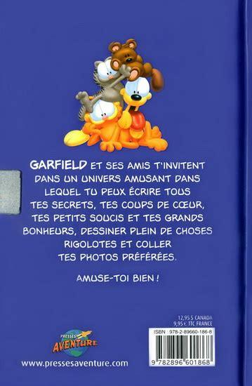 Journal Intime Garfield Mon