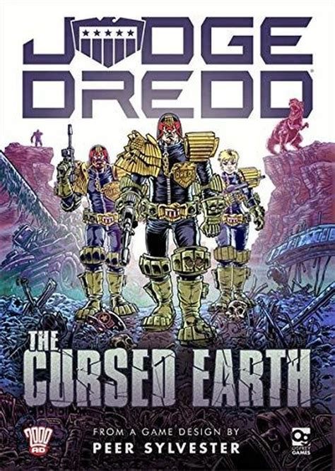 Judge Dredd The Cursed Earth An Expedition Game