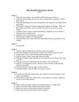 Julius Caesar Study Guide Answers Act 1 Scene 3