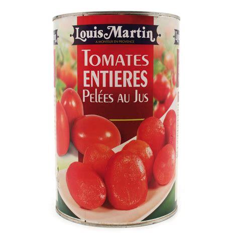 Juste Une Boite De Tomates Pelees Au Jus