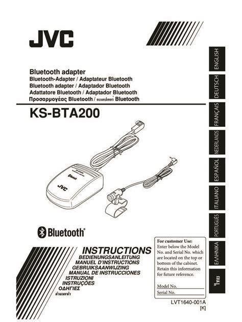 Jvc Bta200 Manual