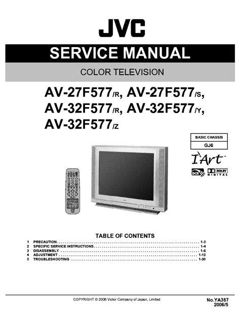Jvc Tv Manual Uk