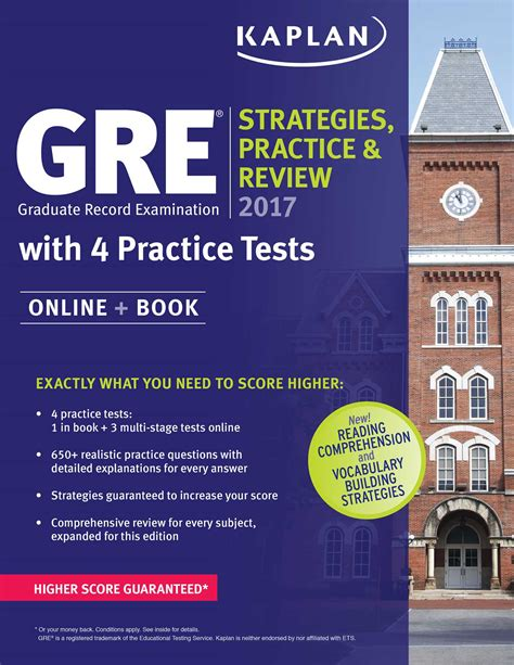 Kaplan Gre 2014 Strategies, Practice, and Review with 4 Practice Tests (Kaplan Gre Exam)