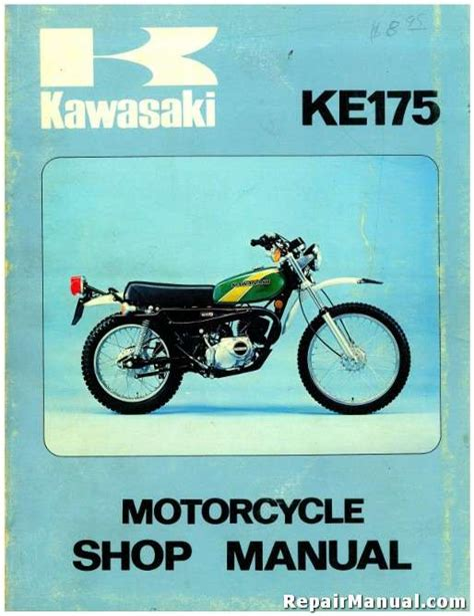 Kawasaki 175 Service Manual