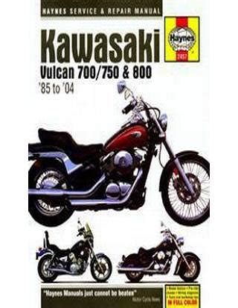 Kawasaki 2017 Vulcan 750 Service Manual