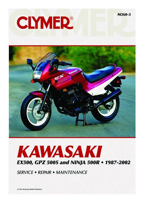 Kawasaki 500r Repair Manual