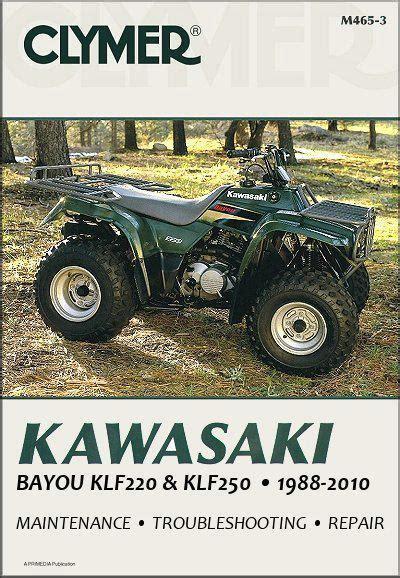 Kawasaki Bayou Service Manual