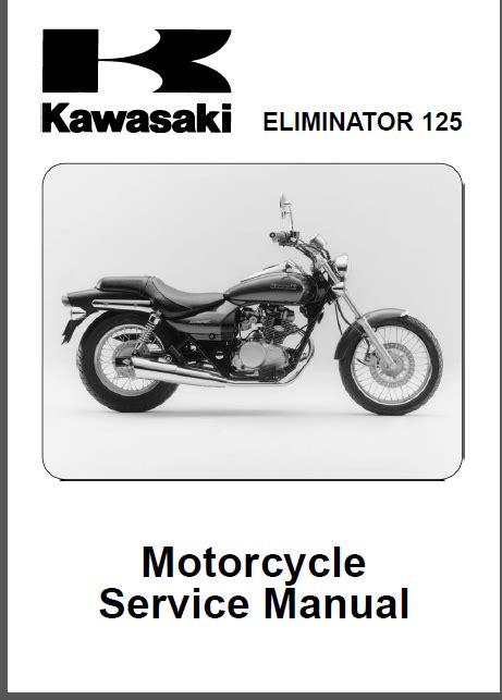 Kawasaki Bn125 Eliminator Service Repair Manual