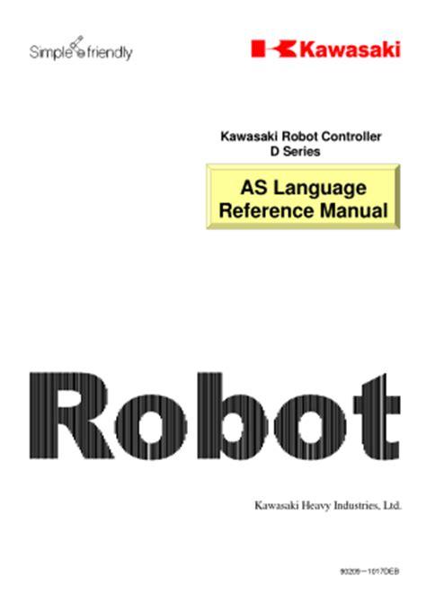 Kawasaki D Series Robot Controller Programming Manual