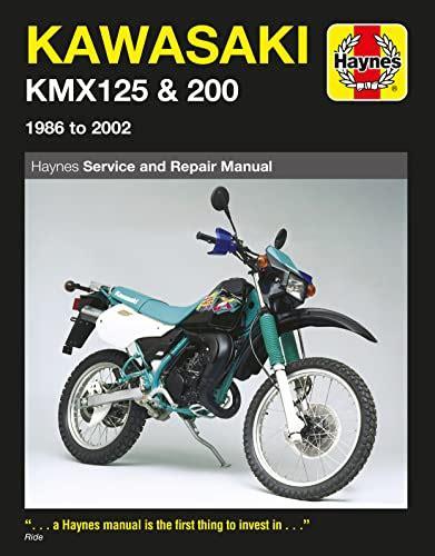 Kawasaki Kmx125 A2 1987 Workshop Service Repair Manual