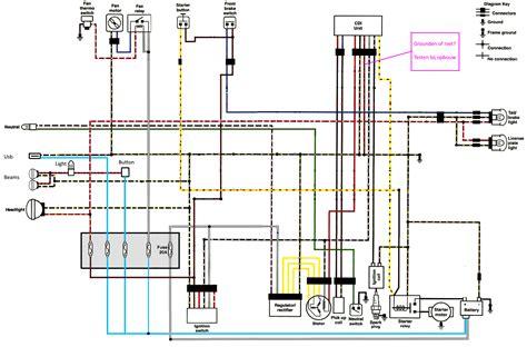 Kawasaki Ksf 250 Wiring Diagram