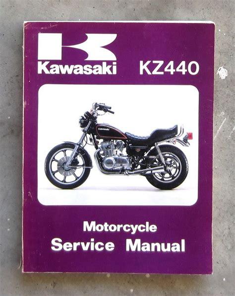 Kawasaki Kz440 1980 1992 Workshop Service Manual For Repair