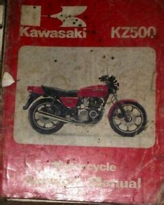 Kawasaki Kz500b1 1979 1981 Manual