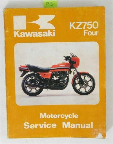 Kawasaki Kz750 Four Motorcycle Full Service Repair Manual 1980 1988