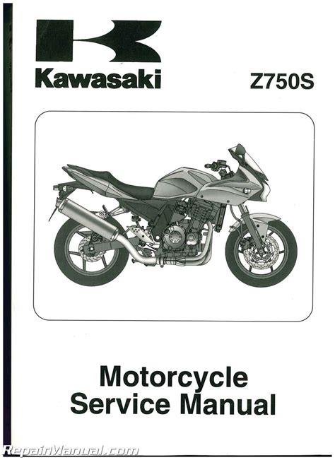 Kawasaki Motorcycle Z750s 2005 Service Manual