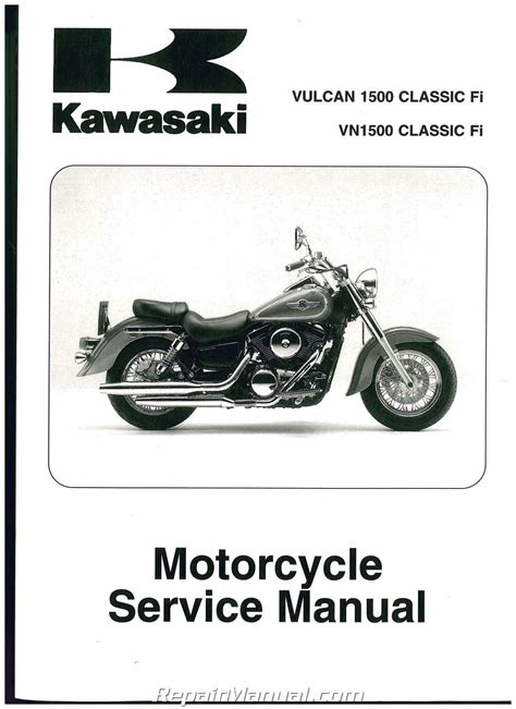 Kawasaki Vn900b6f 2006 Factory Service Repair Manual