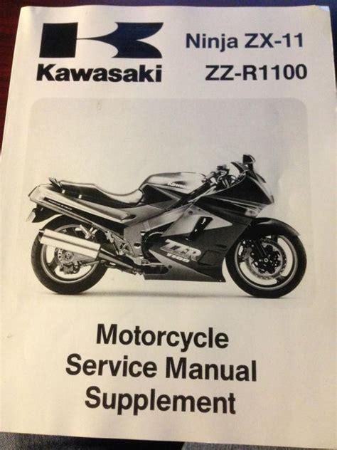 Kawasaki Zx11 Owner Manual