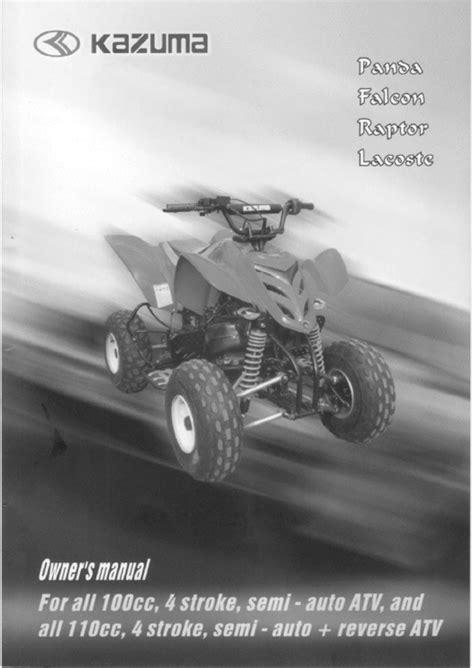 Kazuma Atv Repair Manual