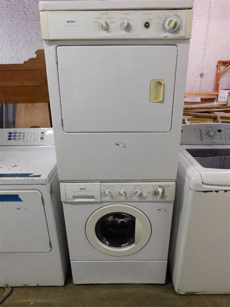 Kenmore Stackable Washer Dryer Installation Manual
