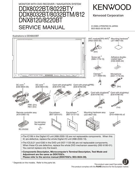 Kenwood 8120 Manual