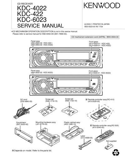 Kenwood Kdc 422 Manual