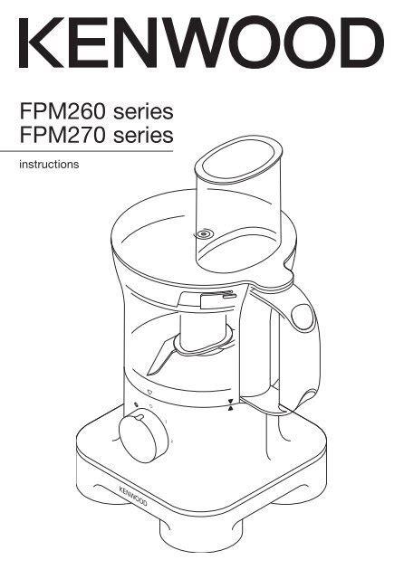 Kenwood Mixer Instructions Manual