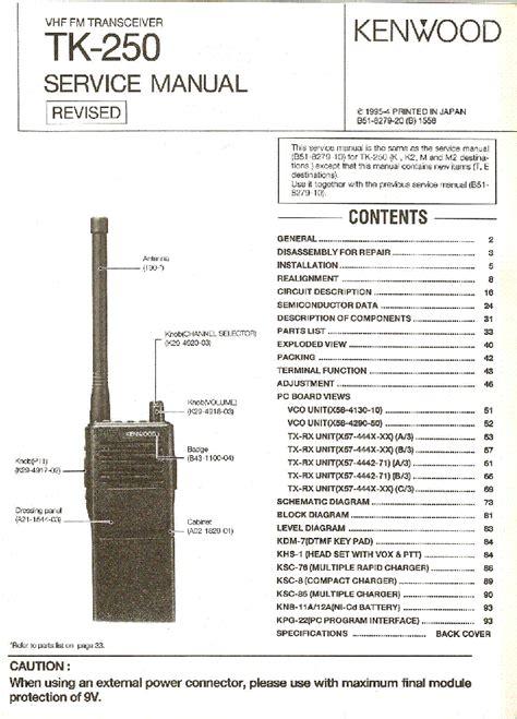 Kenwood Radio Manual Online