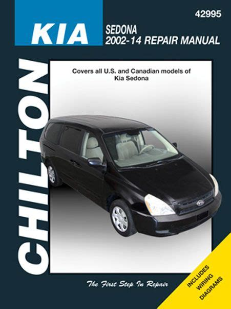 Kia Sedona Chilton Manual