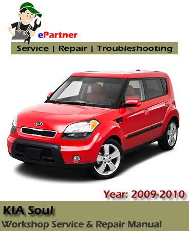 Kia Soul 20l 2009 Service Repair Manual