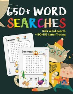 Kids Word Search 650 Word Searches For Kids By Argoprep